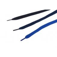 1 Paar blaue flache Schnürsenkel 10mm in 70 - 105cm z2113