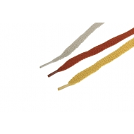 1 Paar Flachsenkel 8mm verschiedene Farben 40cm z2124