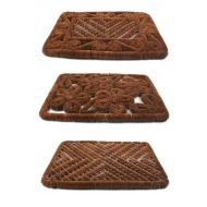 Redecker Kokos Fußmatte in verschiedenen Varianten z2015