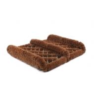 Redecker Kokos Fußabtreter mit Seitenleisten z1850