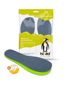 biped minimal sole ASTORGA - 2 Paar Natur Latex Einlegesohlen - spezielle Form - passen nur in Minimal- und Barfußschuhe