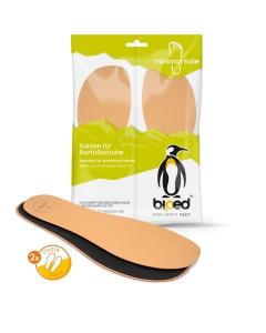 biped minimal sole LEDIGOS - 2 Paar Leder Einlegesohlen - spezielle Form - passen nur in Minimal- und Barfußschuhe