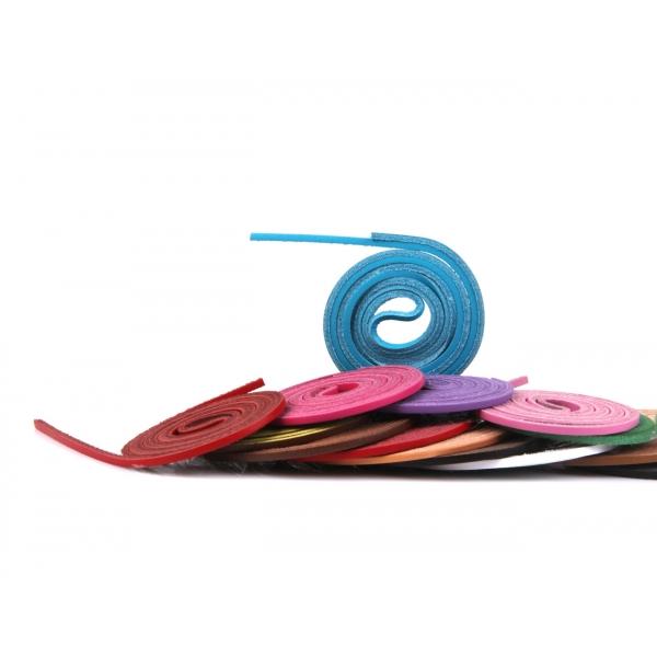 Lederschnürsenkel 120 cm in 17 Farben z1775