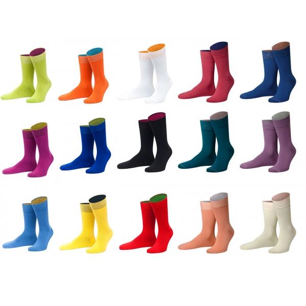 """Basis Socken einfarbig """"von Jungfeld"""""""