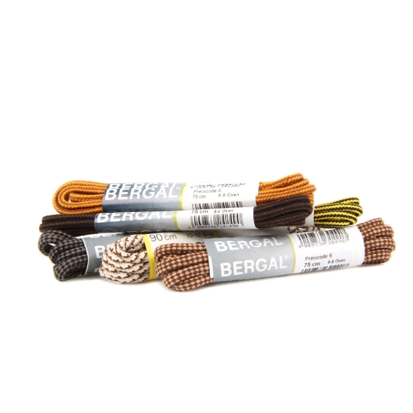 BERGAL mehrfarbiger Kordelsenkel 4mm z2264