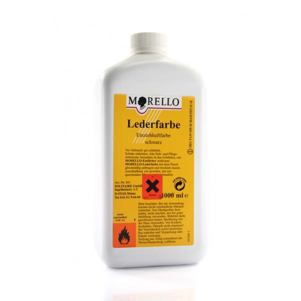 Morello Lederfarbe schwarz 1000ml z234