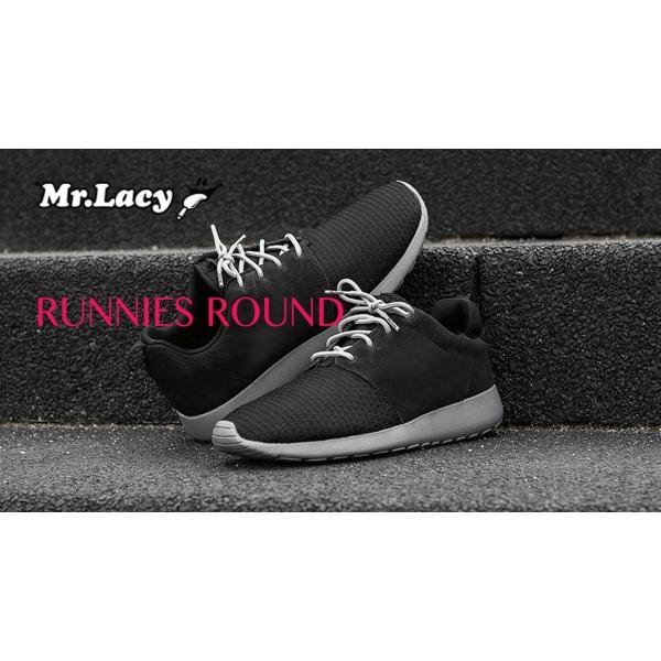 Mr. Lacy Runnies ROUND Schnürsenkel 90cm I 3mm z2491