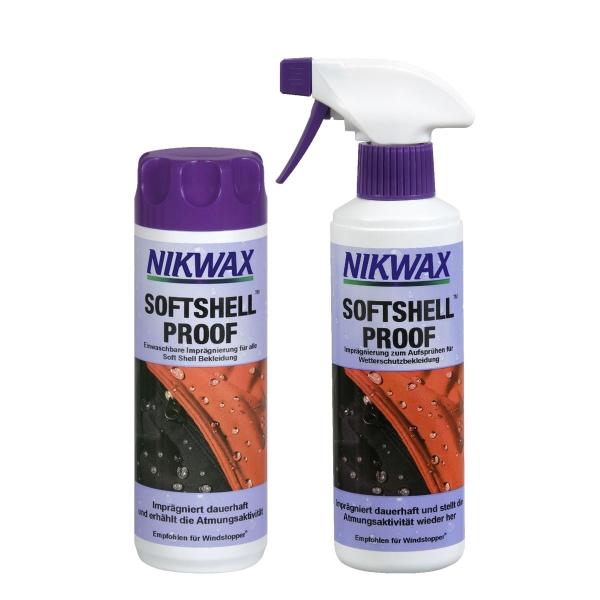 Nikwax Softshell Proof z2140