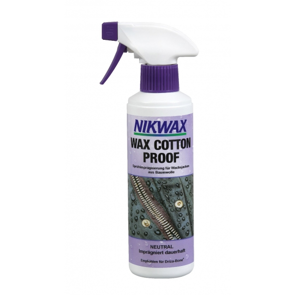 Nikwax Wax Cotton Proof für Wachsjacken farblos 300ml z1886