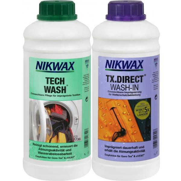 Nikwax TechWash 1l und TX.Direct Wash-In 1l z1966