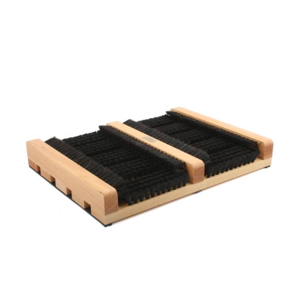 Redecker Fußabtreter aus Buchenholz mit Seitenleiste z1851