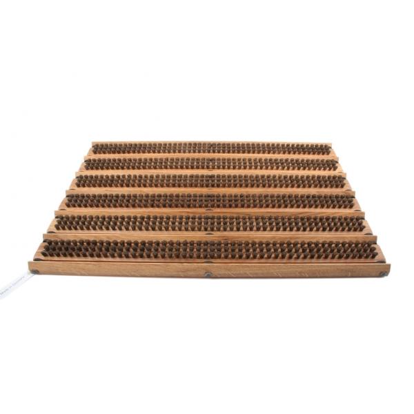 Redecker Fußmatte mit giebelförmigen Abstreifleisten z1852