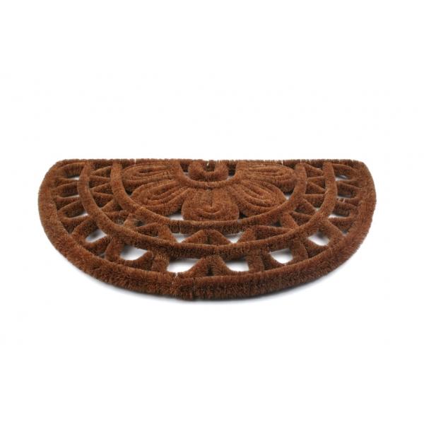 Redecker Kokos-Fußmatte halbrund z1933