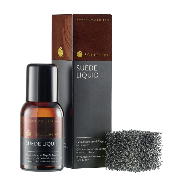 Solitaire Suede Liquid Amber Collection - Produktbild