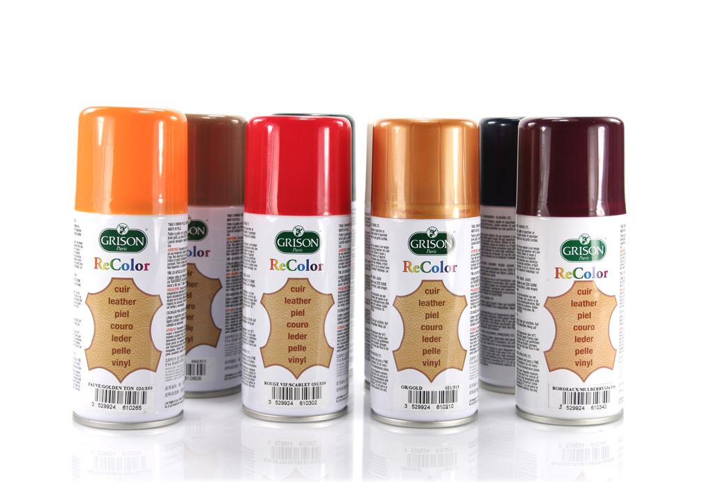 66 100ml Grison Recolor Spray Zum Leder Färben Lederfarbe On Popscreen